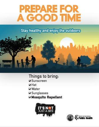 Tips for Enjoying the Outdoors – Infographic